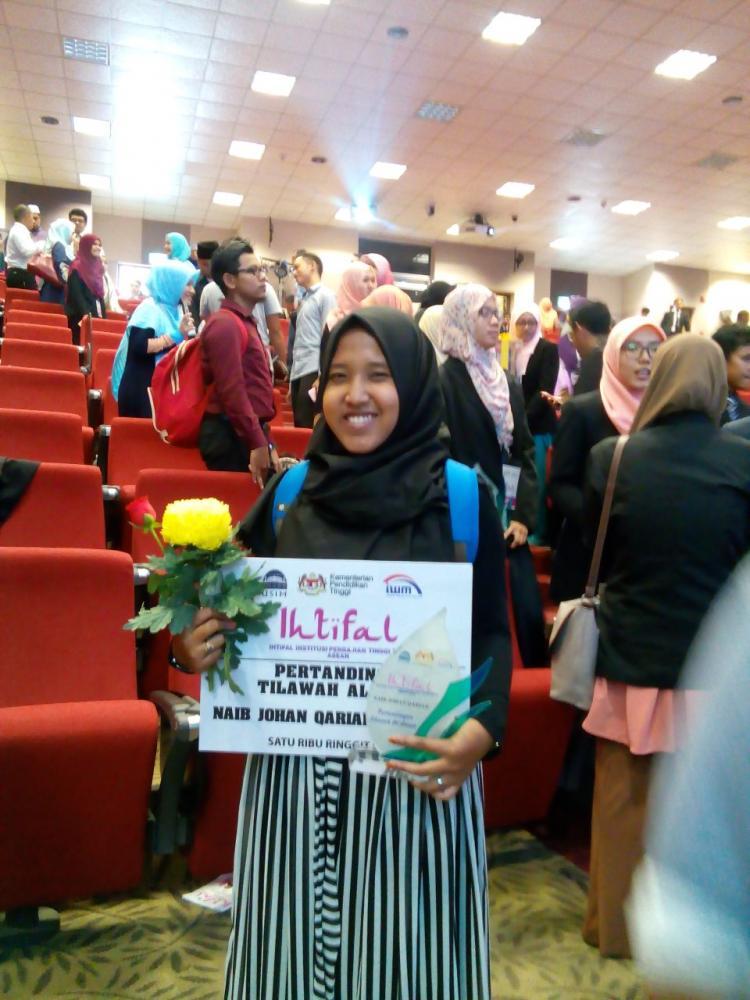 Juara 2 Lomba Tilawah Al Quran Tingkat Asean
