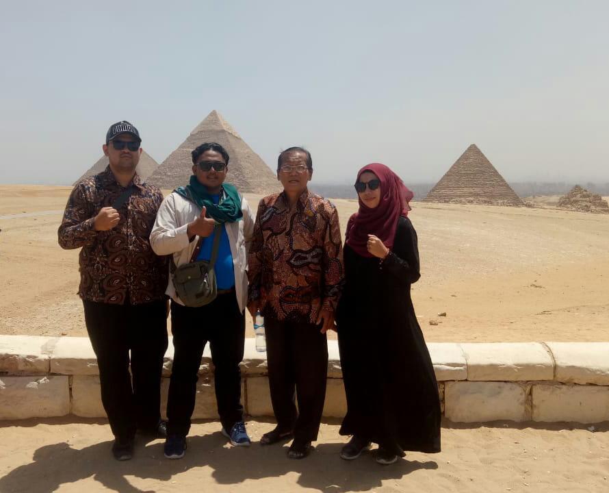 Selamat Mengikuti Daurah Tadribiyah Fi al Lughah al Arabiyah di Mesir