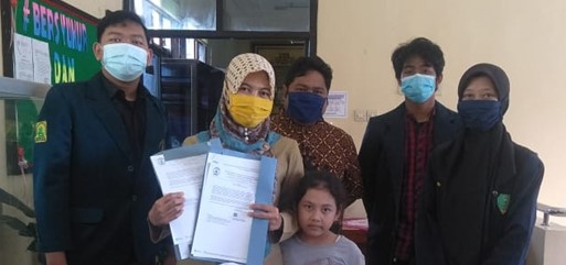 Kunjungan ke Dinas Kabupaten Blitar bersama Dosen Pembimbing Lapangan