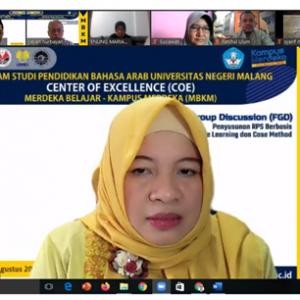 Prodi PBA UM sukses gelar Focus Group Discussion (FGD) Penyusunan RPS berbasis Project Based Learning dan Case Method